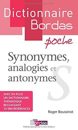 Dictionnaire poche des synonymes, analogies et ant...
