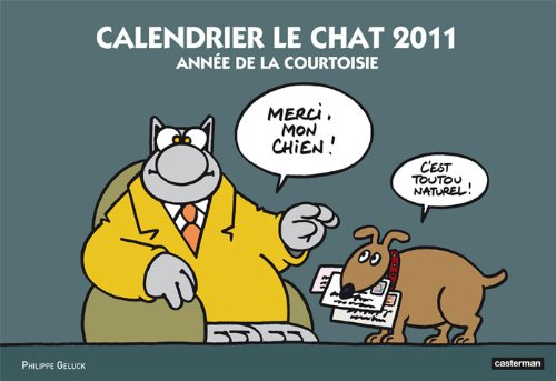 Calendrier le Chat 2011