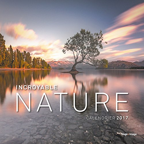 Calendrier mural Incroyable Nature 2017