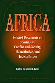 Africa: Selected Documents on Constitutive, Confli...