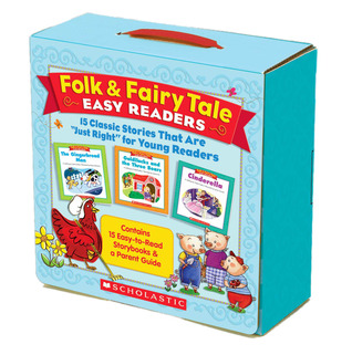 FolkFairy Tale Easy Readers Parent Pack: 15 Classi...