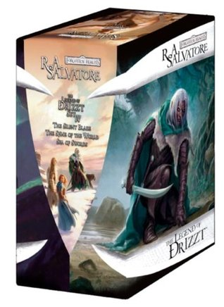 The Legend of Drizzt Boxed Set, Books 11-13