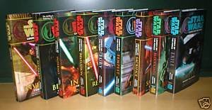 Star Wars - Legacy of the Force (Books 1-9, Betray...
