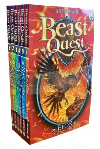Beast Quest Pack: Series 1, 6 books, RRP £29.94 (...