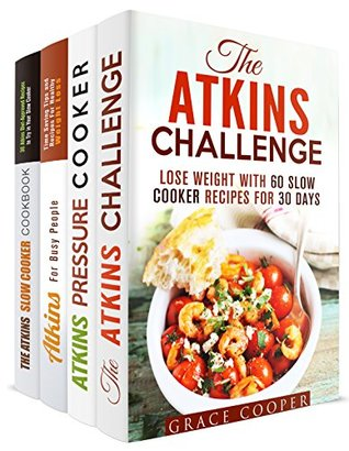 The Atkins Recipes Box Set (4 in 1)